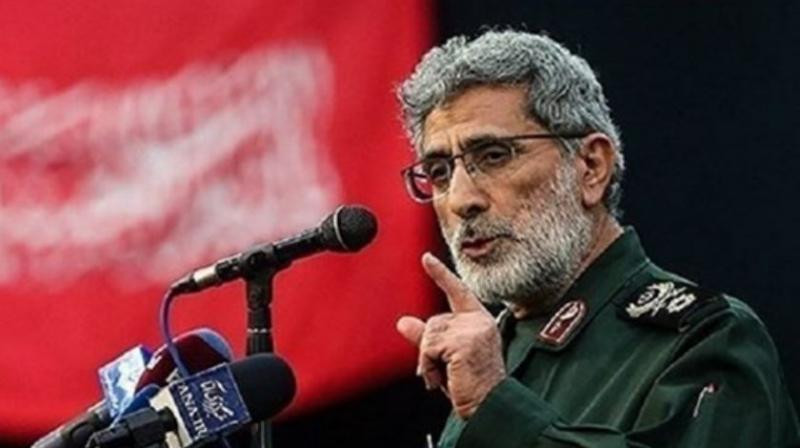 'The orders for the (Quds) force remain exactly as they were during the leadership of martyr Soleimani,