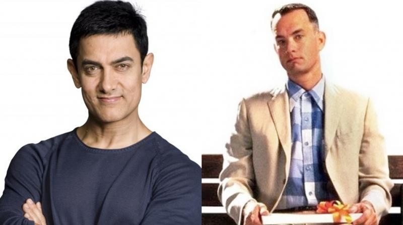 Aamir Khan to star in a remake of Tom Hanks starrer 'Forrest Gump'. (Photo: Twitter)