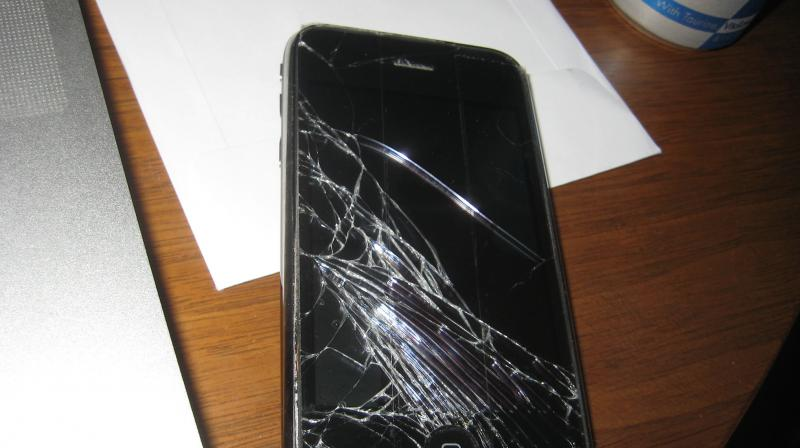 Broken screens allow dust and moisture to get inside the phone easily, which damages other components inside the device