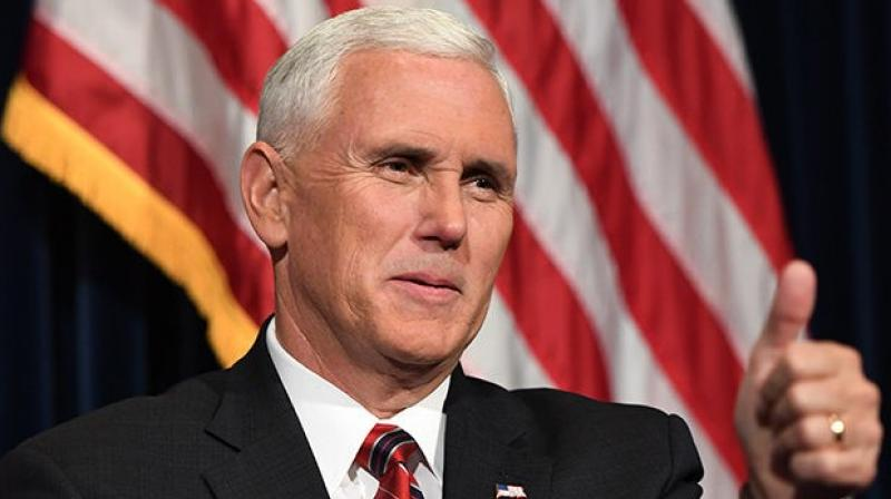 Earlier Monday, Pence visited a metal fabrication business to promote the proposed US-Mexico-Canada Agreement, or USMCA. (Photo: File)