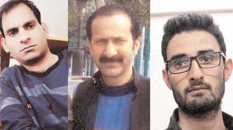 Tazeer Afzal, Lateef Bhat and Waseem Ramzan