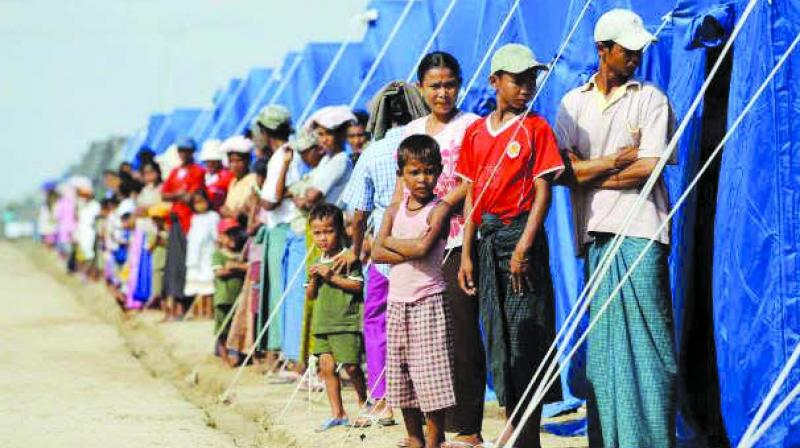 Some 520,000 Rohingya have fled Myanmar's western Rakhine state since August 25