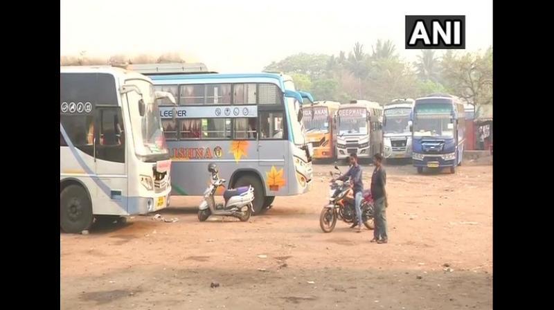 Raids are being conducted at Gottipadu toll gate, Garikapadu check post and Keesara toll gate. (Photo: ANI)