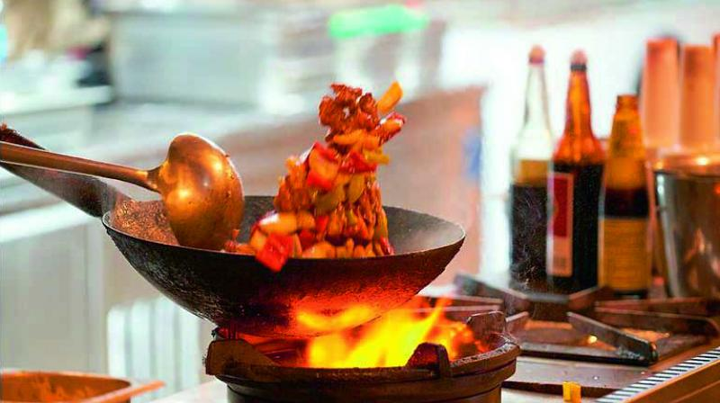 Chinese cuisine in India is a mere adaptation of Chinese cooking with an Indian 'tadka' added to it