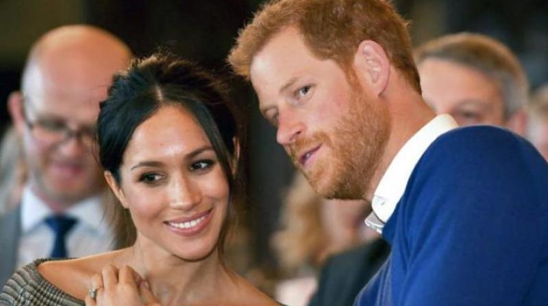 Meghan Markle and Prince Harry. (Photo: AP)