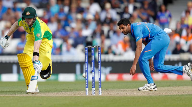 'I think in the first place it was always Bumrah and Bhuvi even before the start of the tournament,' said Arun. (Photo: AFP)