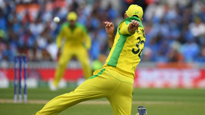 Maxwell also lavished praise on the lethal Indian pace duo of Jasprit Bumrah (3/61) and Bhuvneshwar Kumar (3/50). (Photo: AFP)