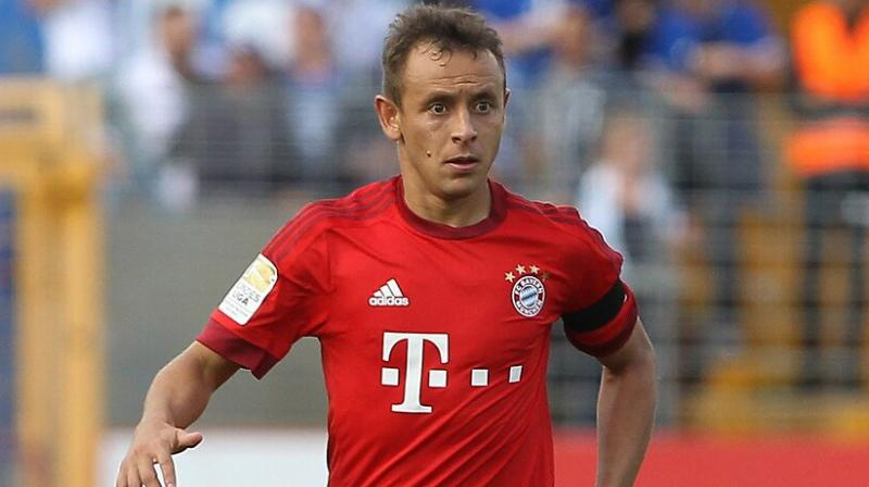 Rafinha joined Bayern from Genoa in 2011, having previously spent five years at Bundesliga rivals Schalke.(Photo: AFP)