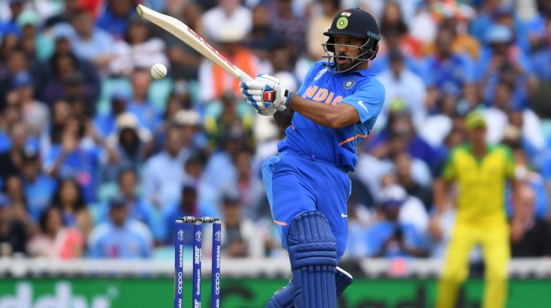 While Dhawan scored his 17th ODI hundred, Rohit Sharma continued his good run with a 70-ball 57. (Photo: AFP)