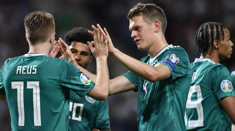 The Germans have won their two Euro qualifiers so far against the Dutch and Belarus on Saturday (Photo: AFP)