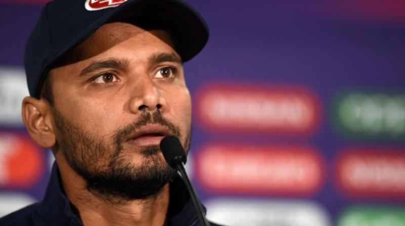 Mashrafe was annoyed by suggestions the result constituted an upset. (Photo: AFP)