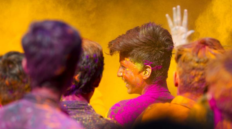 Holi is an ancient Hindu festival that celebrates the arrival of spring and the victory of good over evil. (Photo: AP)