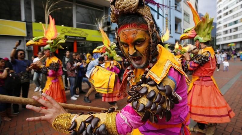 The Ibero-American Theater of Bogotá is a major cultural event in Colombia and one of the largest performing arts festivals in the world. (Photos: AP)