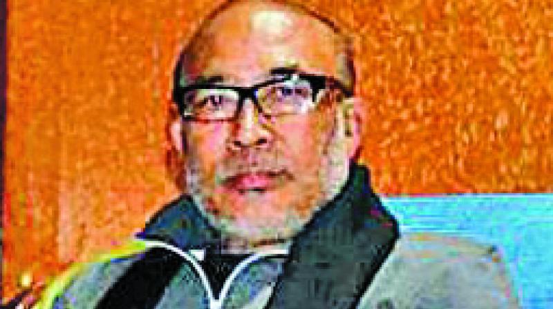 Manipur Chief Minister N Biren Singh.