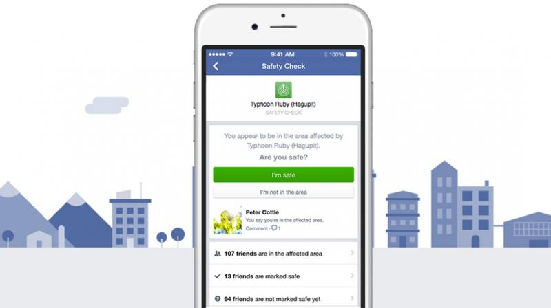 Facebook states that Safety Check has been activated more than 1,000 times in countries around the world and has already notified people that their families and friends are safe more than 3 billion times. (Representative Image)