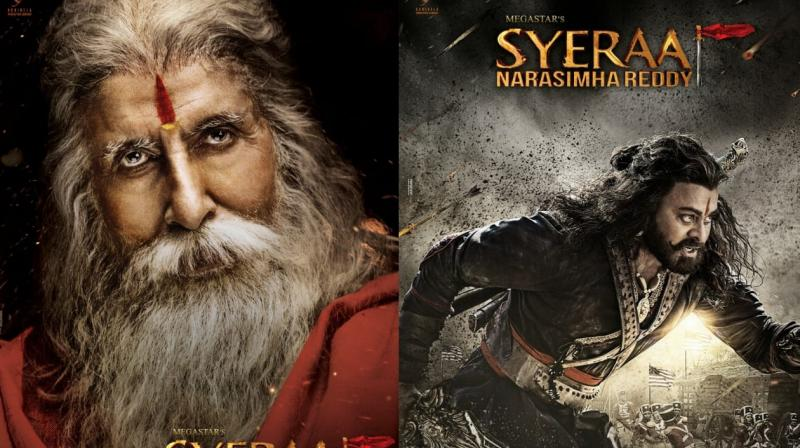 Big B and Chiranjeevi come together for first time in 'Sye Raa Narasimha Reddy'