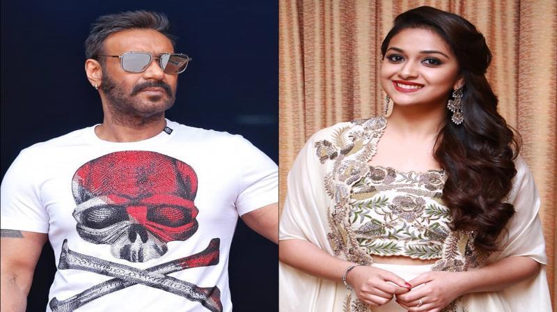 Ajay Devgn and Keerthy Suresh starrer Maidaan's shooting begins, first look out; see