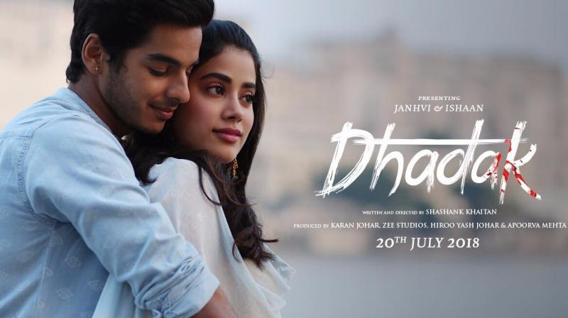 'Dhadak' movie poster.