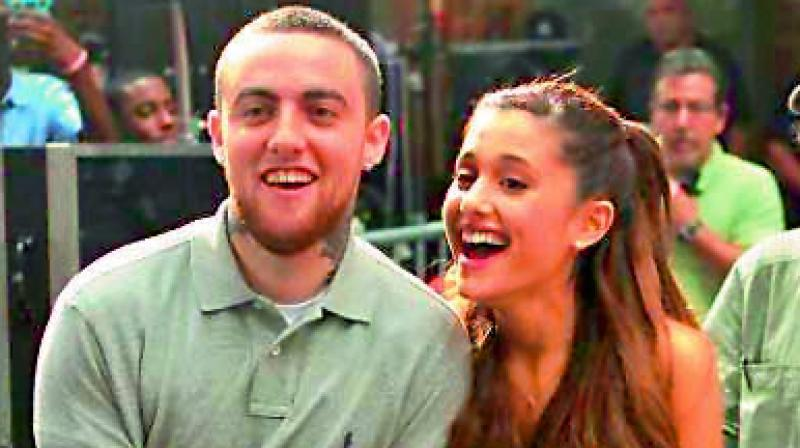 Mac Miller and Ariana