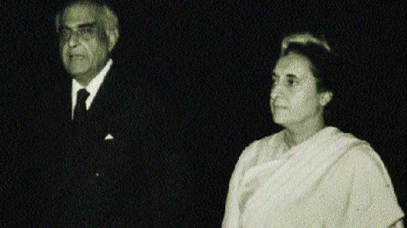 Indira Gandhi with P.N. Haksar