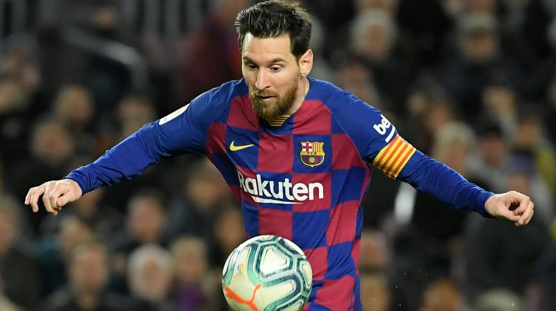 CALLED UP FOR NATIONAL DUTY: Barcelona star Lionel Messi is part of the squad. AFP Photo