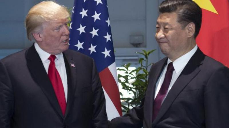 US President Donald Trump and China's Xi Jinping are of course enmeshed in a trade war.