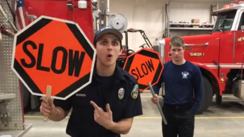The New Gloucester Fire & Rescue's parody is of the song