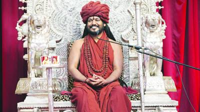 Swami Nithyananda Delivers A Brain Freeze