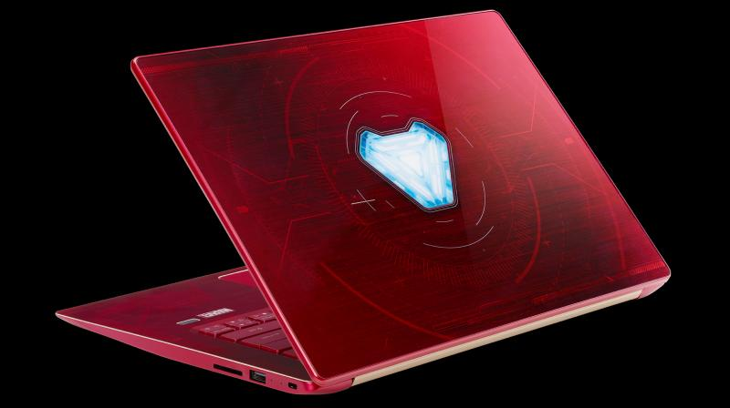 The notebooks will be available in the Indian market from 20 April 2018. (Photo: Swift 3 Iron Man Edition)