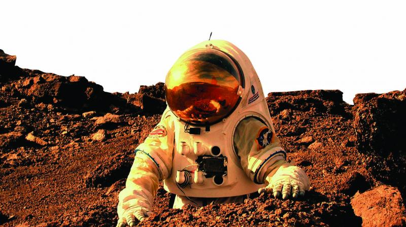 Mars has been identified as the only other planet where human beings can presently settle, as there has been evidence of ice water