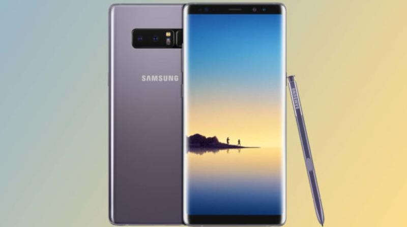 The discount is offered on an exchange of your older smartphone which needs to be a Google, LG, Apple or Samsung-branded device. (Representational Image: Galaxy Note 8)