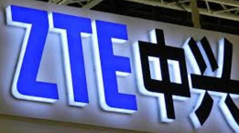 The ban caused ZTE to cease major operations.