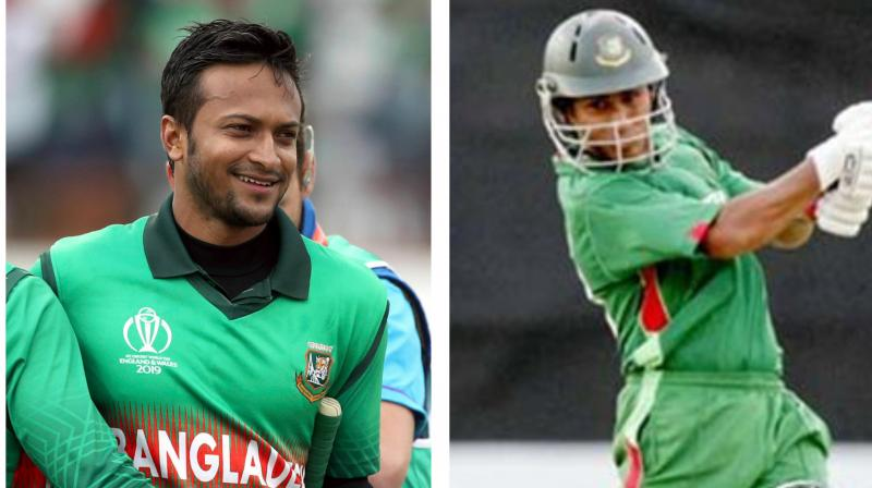 Former Bangladesh captain Mohammad Ashraful on Thursday said the ban on Shakib Al Hasan for failing to report corrupt approaches is a shock to the system and suggested that the top all-rounder be shielded from news on him to help his comeback. (Photo:AP)