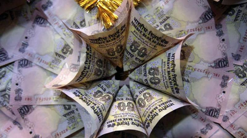 Net direct tax collections upto October are at Rs 4.39 lakh crore which are 15.2 per cent higher than the net collections for the corresponding period of last year. (Photo: PTI)