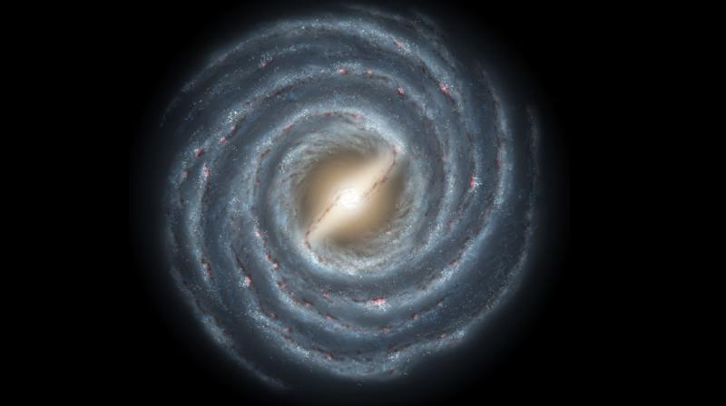 The Milky Way began to form relatively soon after the Big Bang explosion that marked the beginning of the universe some 13.8 billion years ago. (Photo: NASA)