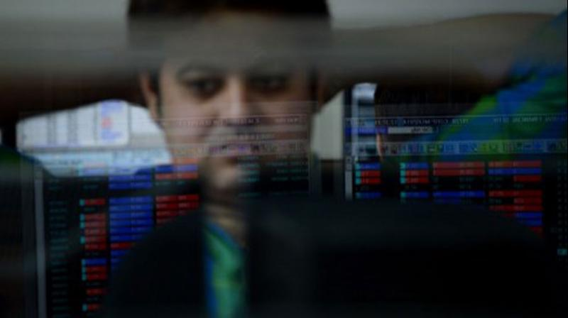 As the equity market plunged for the fourth day in a row, where the BSE benchmark index plummeted over 1,100 points in afternoon trade on Friday, investor wealth witnessed an erosion of a whopping Rs 5.6 lakh crore in four days. (Photo: AFP)