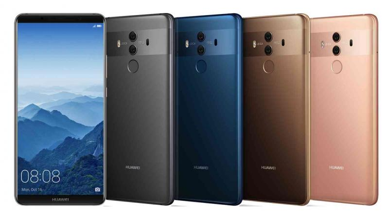The successor to the Mate 10 will be unveiled on October 20. (Representational Photo: Huawei Mate 10)