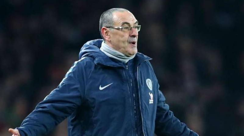 Sarri reportedly has a massive bonus in his contract if he leads Juventus to the elusive European title. (Photo: AFP)