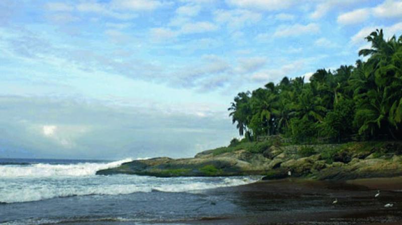 Azhimala is a portmanteau term of azhi (sea) and mala (hill) — a rare convergence of sea and hill attributing it a befitting name.