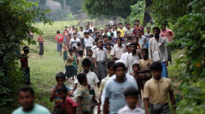 Rohingya civilians have been displaced by a crackdown following the October 9 attacks. (Photo: AP)