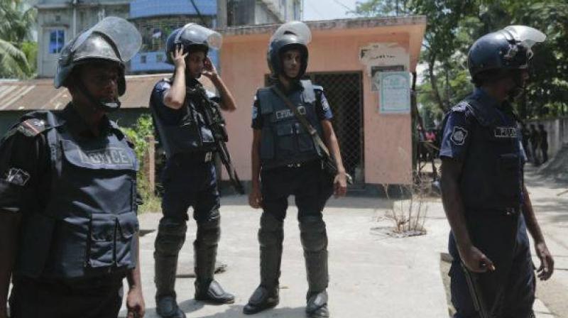 Bangladesh policemen. (Photo: Representational/AP)