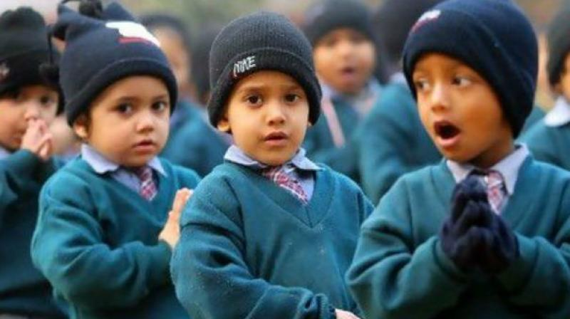 The admission process began from December 27 last year to around 1,600 private unaided recognised schools. (Representational image)