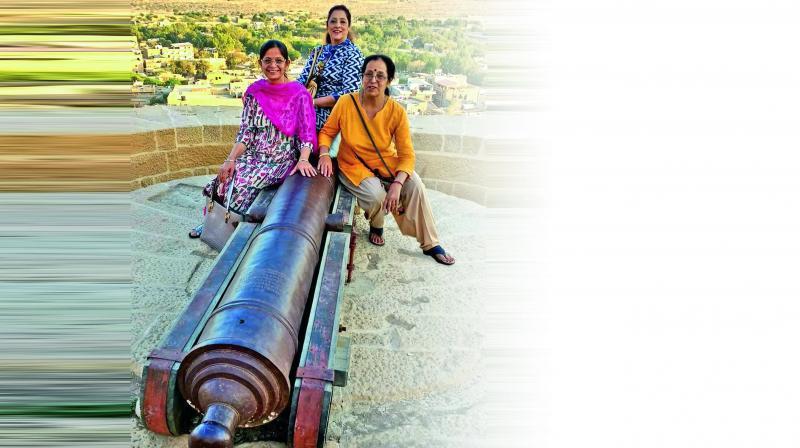 Grandmothers Monicka Chanana, Pratibha Sabharwal and Neeru Gandhi. (Photos: Age No Bar Facebook page)