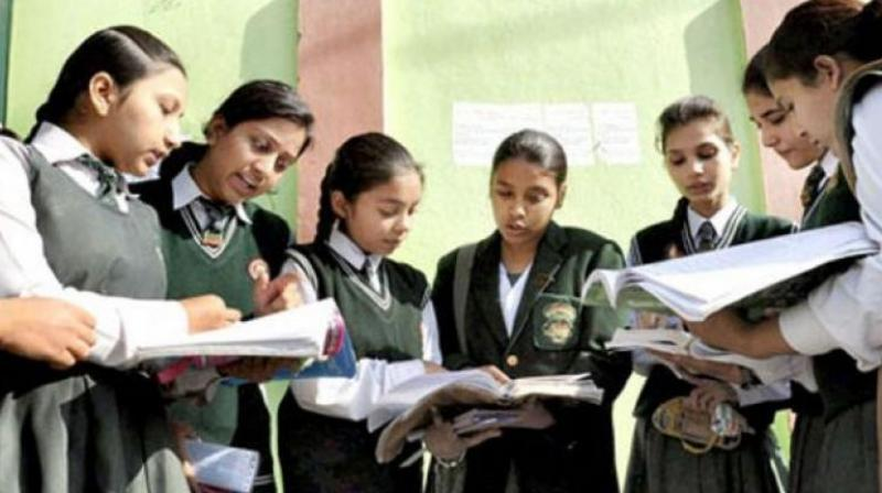 The first day of examination sees Class 10 students sitting for their language exams including Sanskrit, Urdu and French while Class 12 students have Hindi. (Representational Image)