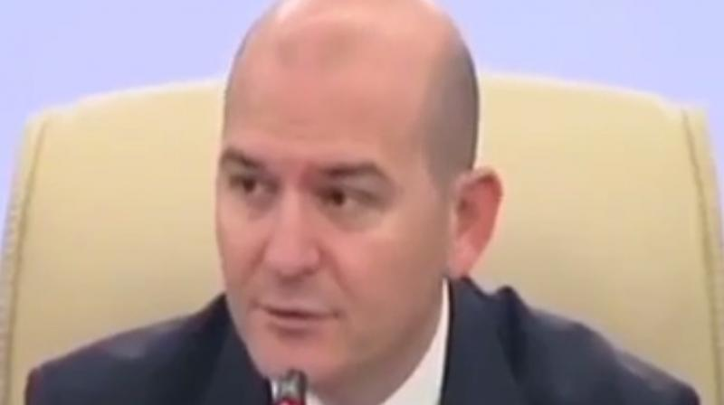The cause of the explosion is under investigation, but Interior Minister Suleyman Soylu suggested that it could be due to the repair work. (Photo: YouTube videograb)