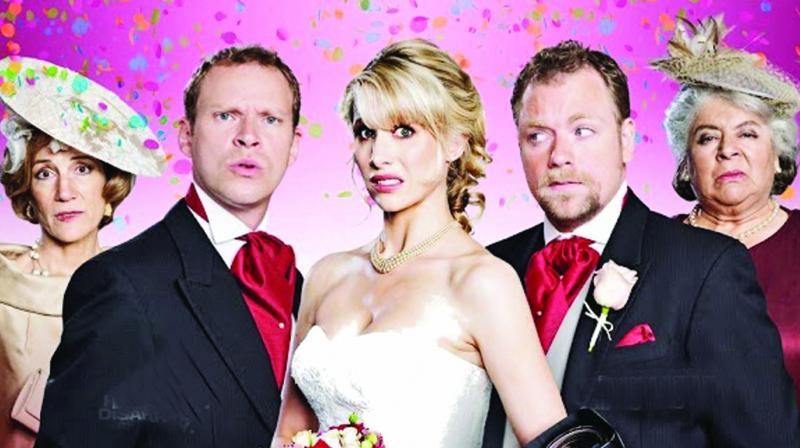 Still from The Wedding Video