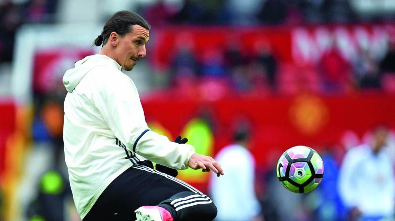 According to reports in Italy, Zlatan Ibrahimovic has been offered a six-month deal to come to the aid of struggling former giants AC Milan, who are 11th in the Serie A table. (Photo: AFP)