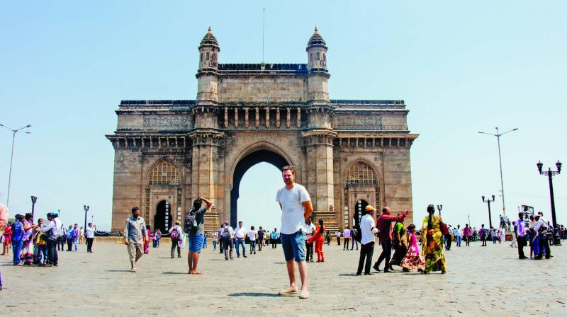 Weibe Wakker in Mumbai