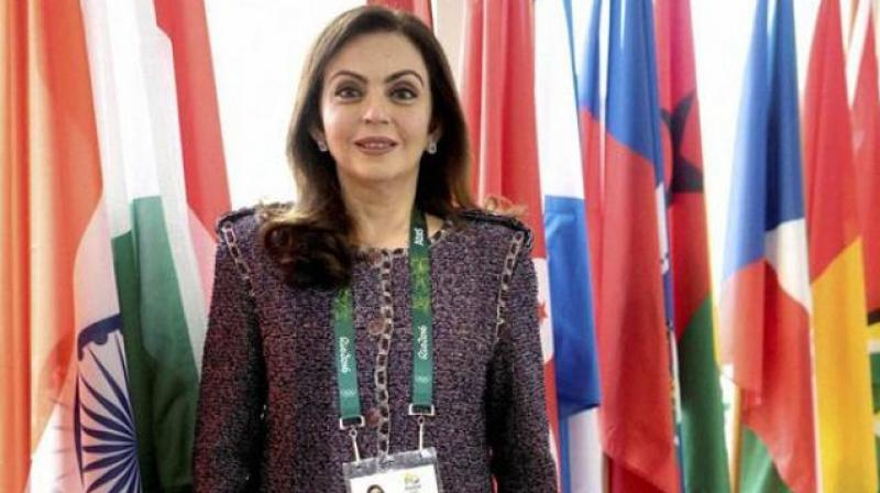 Nita Ambani, who is also the chairman of Reliance Foundation, delivered a keynote speech 'Inspiring A Billion Dreams: The India Opportunity', at the Leaders Week 2019 London here. (Photo: File)