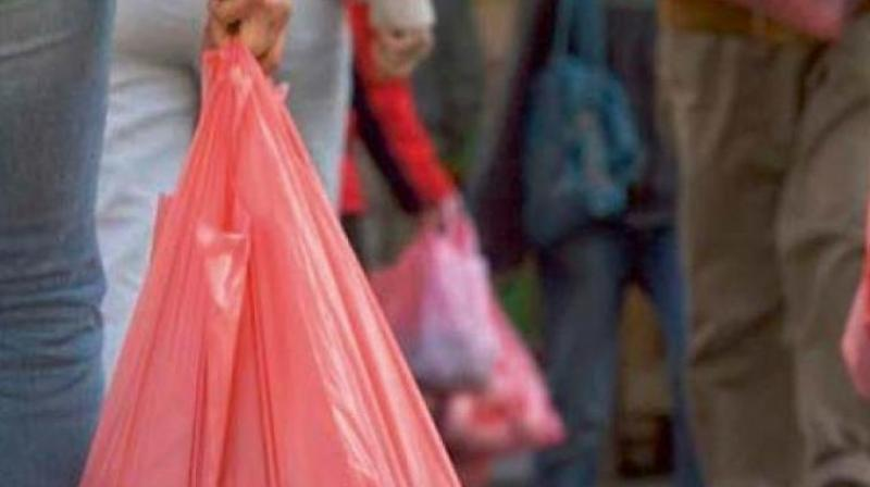A clandestine supply of plastic carry bags from neighbouring cities has further added to the plastic menace in the city.
